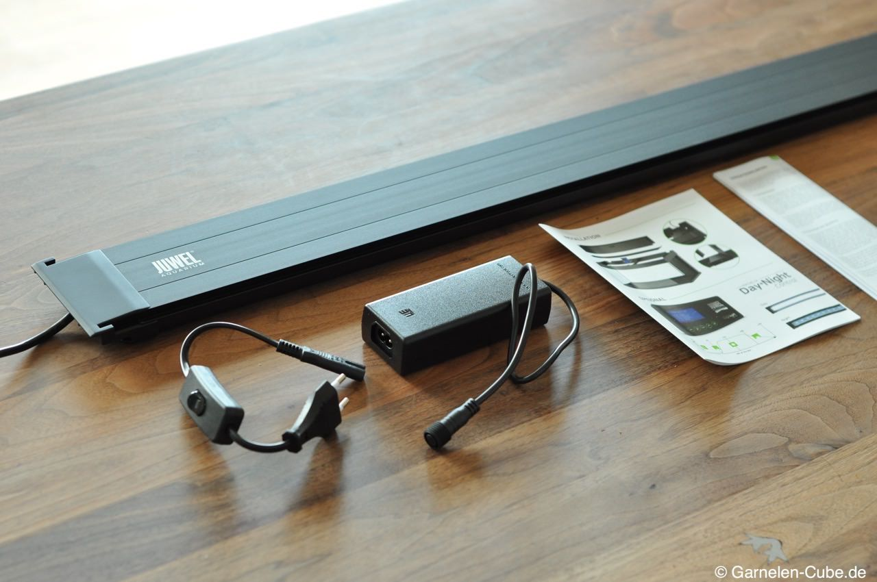 test juwel rio auf led umstellen mit der helialux led. Black Bedroom Furniture Sets. Home Design Ideas